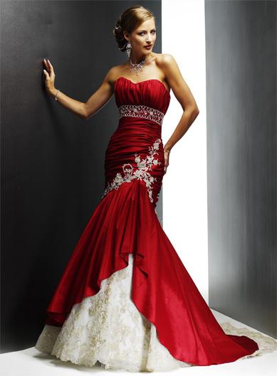 Break The Mold Coloured Wedding Dresses