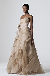 Check Out This Patchwork Wedding Dress From Yves Saint Lau