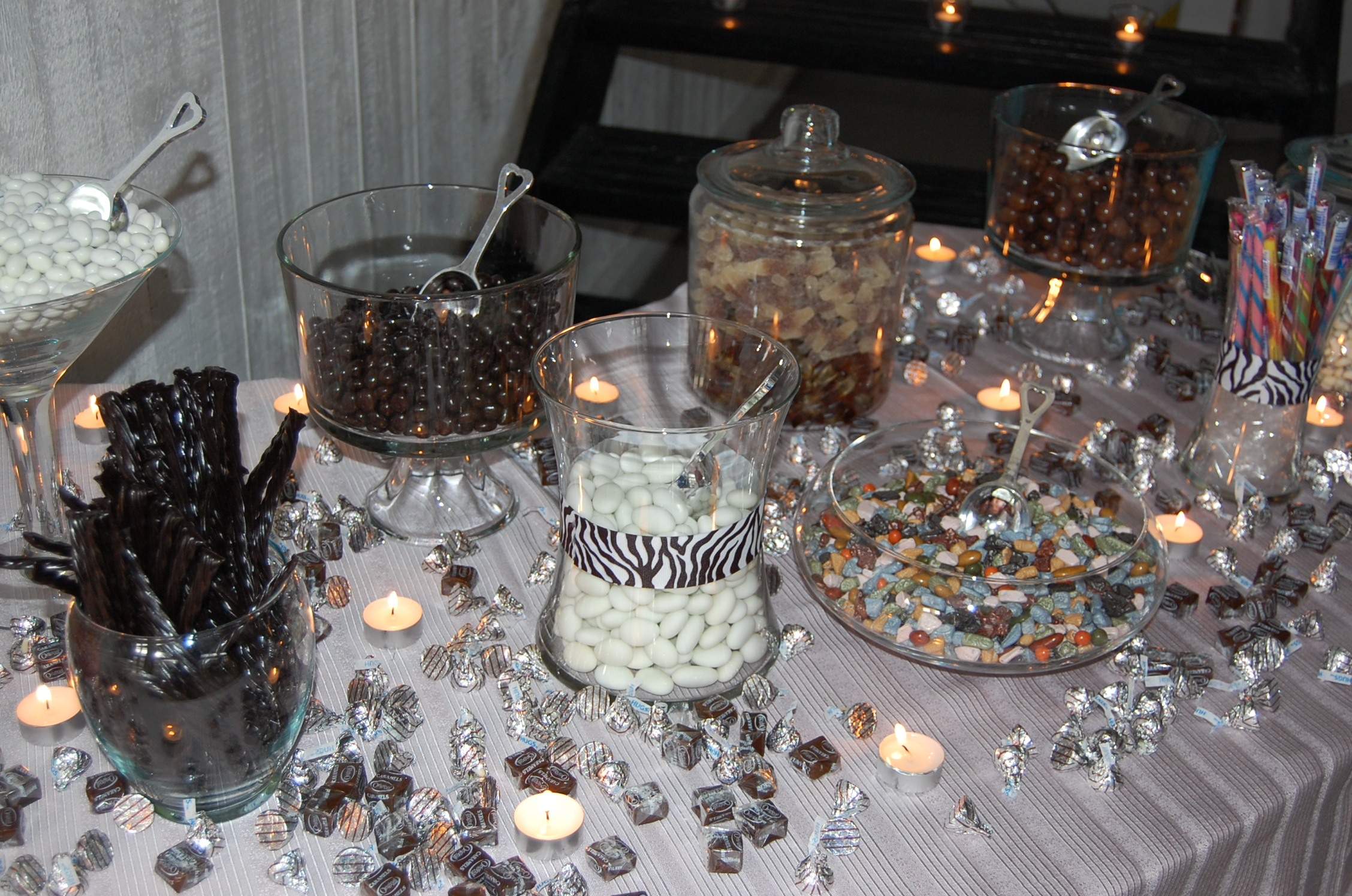 Brilliant Candy Buffets A Grand Approach Wpic Home Interior And Landscaping Eliaenasavecom