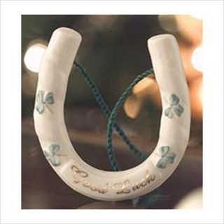the lucky horseshoe traditionally irish brides used to carry a real ...