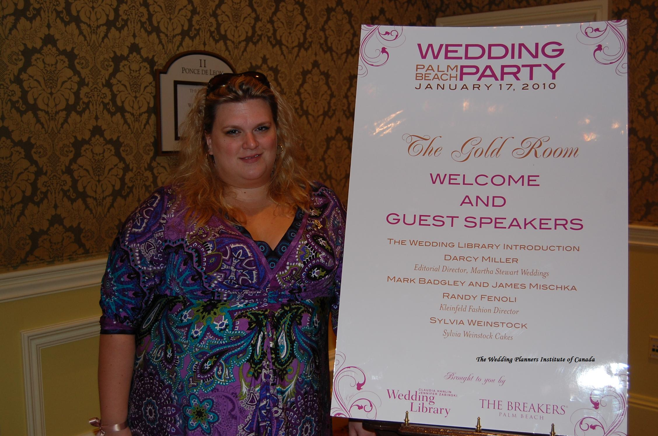 Danielle Andrews Sunkel Wedding Party Palm Beach