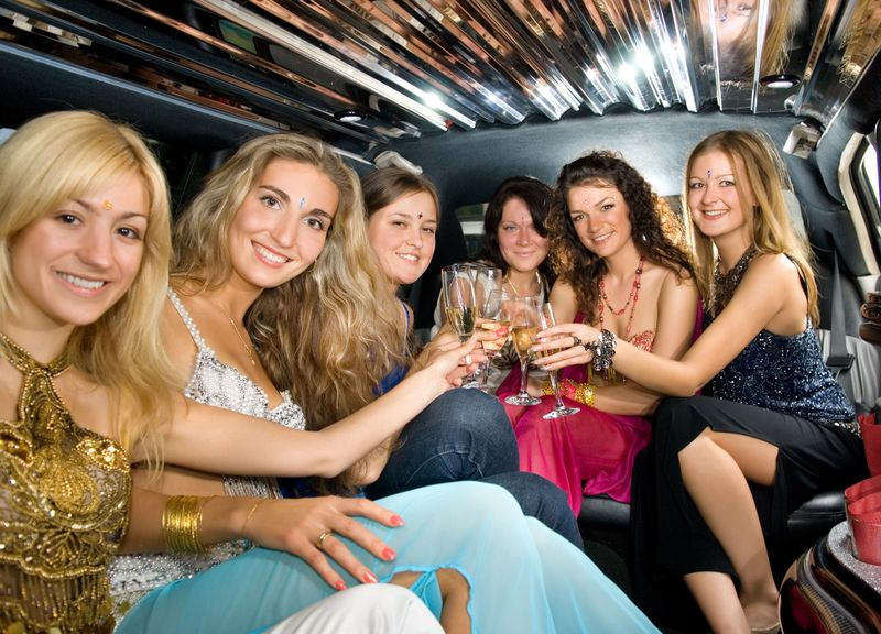 Hen Party in Limo
