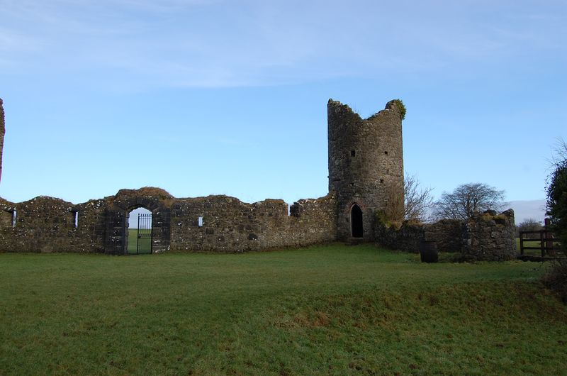 Old Crom Castle ruins