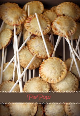 Bakerella pie pops