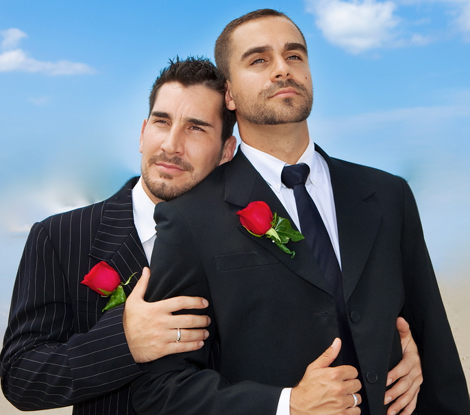 Gay Wedding two grooms