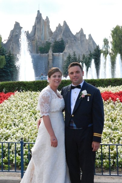 Wedding at Canada's Wonderland