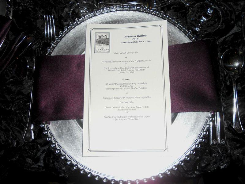 Preston menu